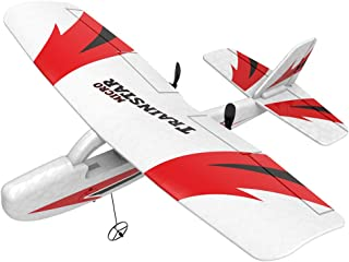 Remote Control Airplane, 2 Channel RC Airplane 2.4GHz Mini RTF Aircraft, Indoor Outdoor Good for Kids Adults