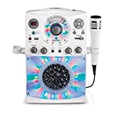 Singing Machine SML385UW Bluetooth Karaoke System with LED Disco...