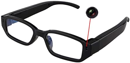 Hidden Camera Eyeglasses HD 1080P Portable Spy Camera Support Up to 32G TF Card Fashion..