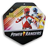 Power Rangers Sticker Pad - 8 x 8 Inches - 300 Stickers
