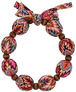 Nano-Ice Cooling Necklace - Coral/Turquoise   Beat The Heat in Style!   Take Out of Freezer for Hours of Cooling Relief!