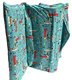 KinderMat PBS Kids Full Cover Sheet, Pillowcase Style Sheet Fits Basic (5/8' and...