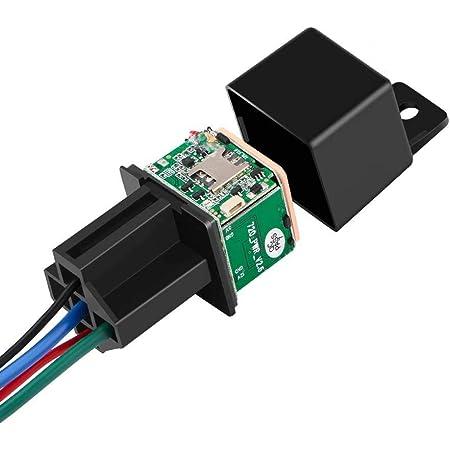 Mini GPS Relay GPS Tracker Car MV720 9-90V Cut Off Fuel Vehicle Tracker Vibrate Overspeed Alert Geofence Free APP PK CJ720 LK720