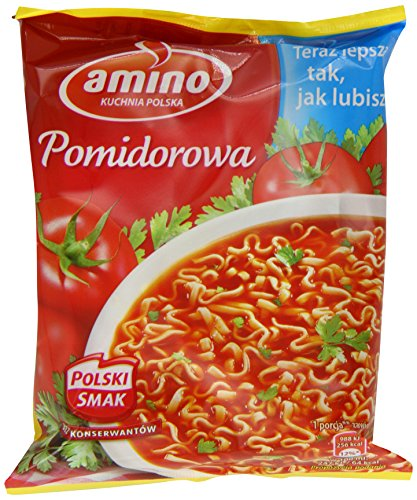 Unilever Amino Instant Tomato Soup 61 g (Pack of 22)