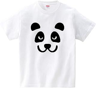 ごくあくパンダ(Tシャツ?ホワイト) (犬田猫三郎)