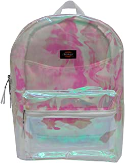 monogrammed clear backpacks