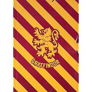 Carpeta gomas A4 polipropileno Harry Potter Gryffindor 11