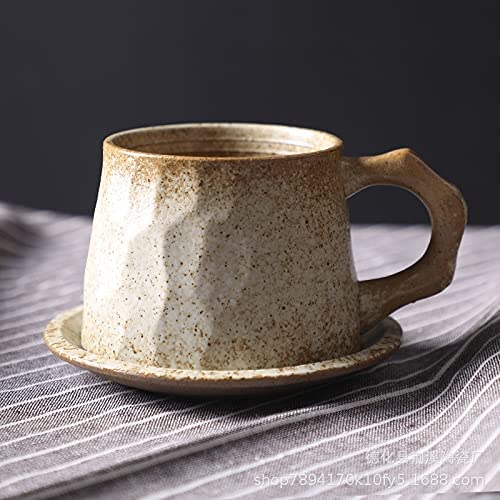 HUODIAN depot Ceramic Coffee Tucson Mall Cup Porcelain Individual Pottery T Single