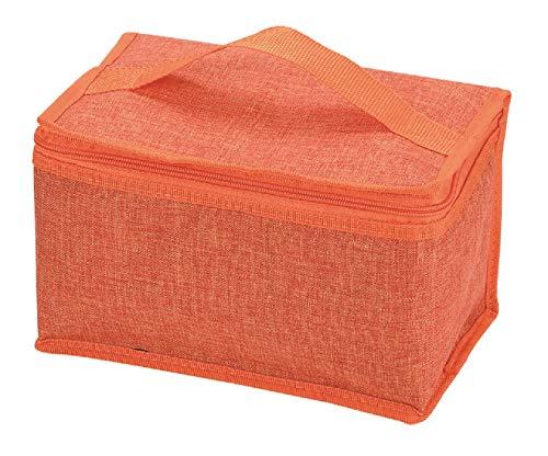 パール金属 保冷 ランチバッグ 4L オレンジ クールストレージ D-6491