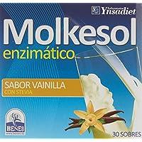 Ynsadiet Molkesol Vainilla Enzimático con Stevia - 30 Sobres