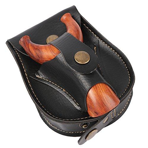 QZY Slingshot Pocket Negro Slingshot Accesorios
