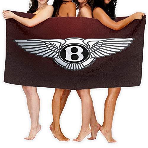 Bentley - Toallero de algodón de bambú para mujer, con cierre y bolsillo, bata de baño y toalla de ducha
