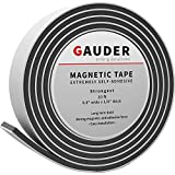 GAUDER Magnetic Tape Extra Strong | Magnet Strips Extremely Self Adhesive | Magnet Roll