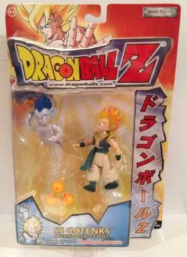 """Dragonball Z 5"""" SS GOTENKS w/KAMIKAZE GHOST Action Figure - DBZ SERIES 12 - JAKKS"""