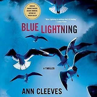 Blue Lightning: A Thriller audiobook cover art