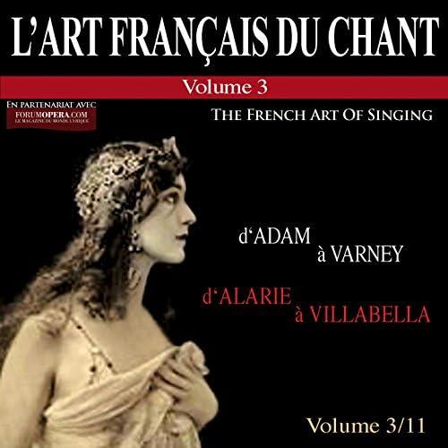 Germaine Cernay, Camille Maurane & Suzanne Danco