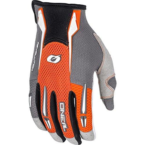 O'NEAL | Fahrrad- & Motocross-Handschuhe | MX MTB Motocross Enduro Motorrad | Leichtes & einfaches Design für EIN optimales Gefühl am Lenker | Podium Glove | Erwachsene | Orange | Größe S