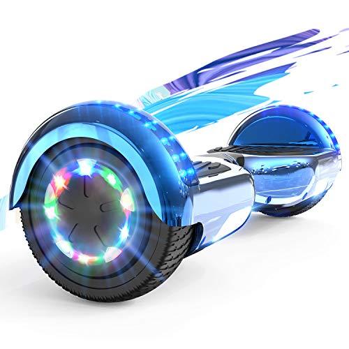 SOUTHERN WOLF Hoverboards 6.5 Self Balance Scooter mit 350W*2 Motorbeleuchtung, RGB LED-Leuchten, Bluetooth-Lautsprecher, Elektroroller Elektro Skateboard für Kinder 8 bis 12 Jahren