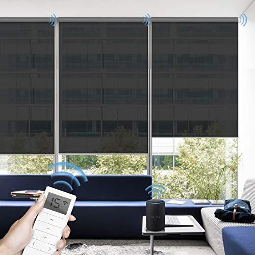 commercial Graywind Electric Roller Shutter 50% Shading Blind Fireproof Roller Shutter … smart window blinds