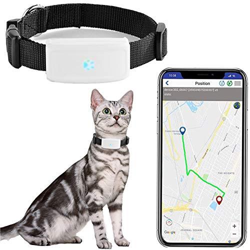 Zeerkeers Dog GPS Tracker, Real-time Pet GPS Tracker Activity Monitor with SOS Alarm, Waterproof...