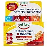Equilibra Multivitamine & Minerali, 30 compresse triplo strato