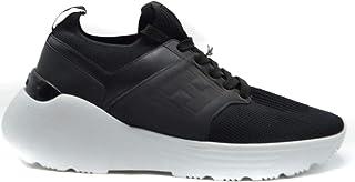 Luxury Fashion   Hogan Men MCBI39511 Black Polyamide Sneakers   Season Outlet