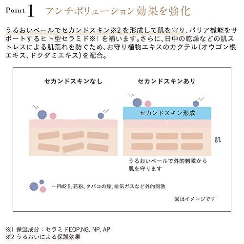 ETVOS(エトヴォス)モイストバリアBB#ライト30mlSPF32/PA+++ツヤBBクリームリキッド美容液ファンデーション肌荒れ敏感肌花粉PM2.5ヒト型セラミド