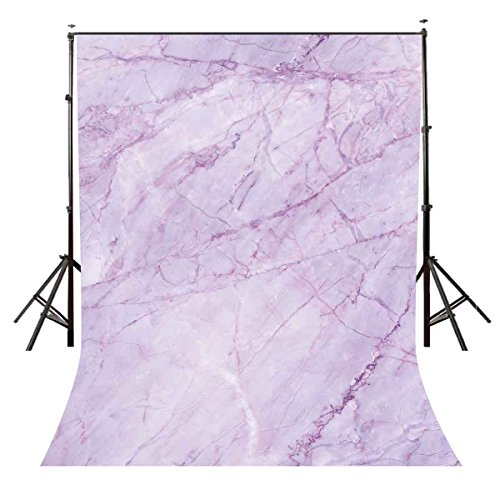LYLYCTY 5x7ft Ultra Violet Backdrop Marble Texture Pattern Studio Photography Backdrop Props LYNAN124