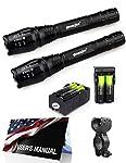 2X Police Tactical 5000 Lumens Led Flashlight