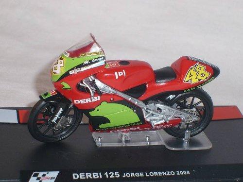 Ixo derbi 125 Jorge Lorenzo 2004 Motogp 1/24 Altaya by Modellmotorrad Modell Motorrad