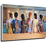 Kribee Pink Floyd Back Catalogue Pittura su Tela Poster da Parete e Stampe Poster Nordico Immagini da Parete per Soggiorno Decor 20×30inch(50×75cm) Frame-Style-1