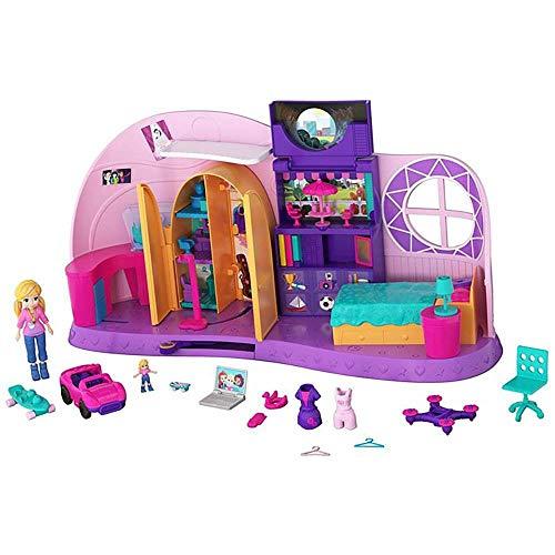 Polly Pocket - Polly Pocket! Quarto Da Polly Pocket, Mattel, FRY98, Multicor