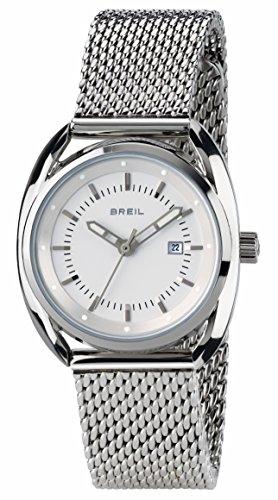 BREIL - Orologio da Donna Beaubourg TW1636 - Orologio Solo Tempo con Quadrante Bianco - Cassa in acciaio 32 mm - Bracciale in Acciaio - Movimento al Quarzo
