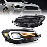 VLAND Projector Led Headlights Compatible with...