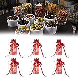 Cajas de dulces, cajas de galletas, material para fiesta de cumpleaños, fiesta de bienvenida al bebé, fiesta de Navidad(Vintage flower trumpet)