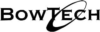 WHITE BOWTECH LOGO VINYL DECAL STICKER