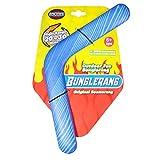 Dilwe Boomerang Volante, Boa di Lancio a Forma di V di Eva Boomerang di Cattura Veloce Boomerang di Cattura per Principianti Giovani lanciatori(Tirare Indietro Il velivolo della-Rosso)
