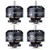 iFlight 4pcs XING-E 1105 6000KV 2-3S Micro Brushless Motor for FPV Racing Drone Frame Micro Quadcopter