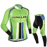 (traje tamaño:L) Hombre Ciclismo Ropa Maillots Pantalones pantalón Set Conjunto jerseys