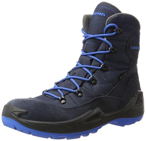 Lowa Lowa Unisex-Kinder Rufus III Gtx Hi Trekking-& Wanderhalbschuhe, Blau (Navy/Blue), 41EU(7UK)