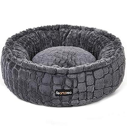 SPEZIELL FÜR IHRE FELLNASE: Ihr Haustier schläft mehr als den halben Tag, dann verdient es auch ein bequemes Bett. Die Plüschoberfläche ist so kuschelig weich, dass Ihr Liebling sich fühlt, als schläfe es in Ihren schützenden Armen EIN KUSCHELIGER OR...