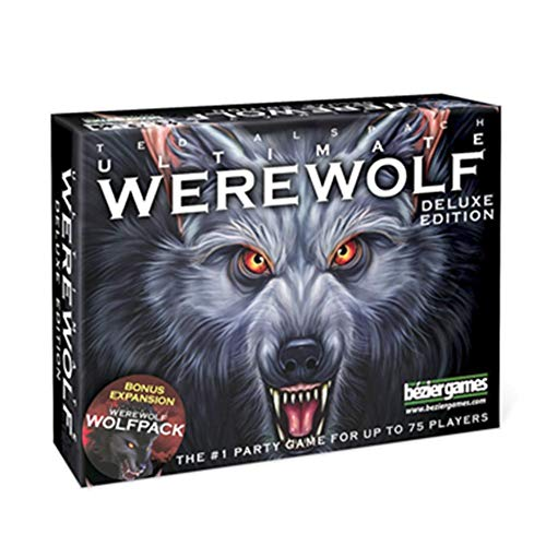 josietomy Tarjeta De Juego De Mesa Inglesa, One Night Ultimate Werewolf, Ultimate Werewolf Deluxe Edition: Daybreak Expansion