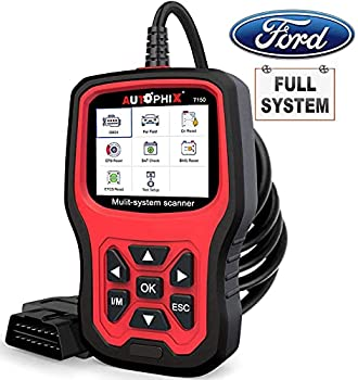 AUTOPHIX OBD2 Scanner Code Reader for Ford Lincoin Mercury,7150 Full Systems Diagnostic Scanner Tool with Engine ABS SRS SAS BMS EPB TPMS Transmission DPF Regen Oil Reset for Ford All Car After 1991