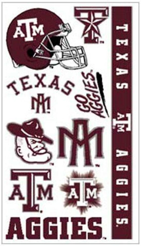 Caseys Distributing 3208514322 Texas A&M Aggies Temporary Tattoos