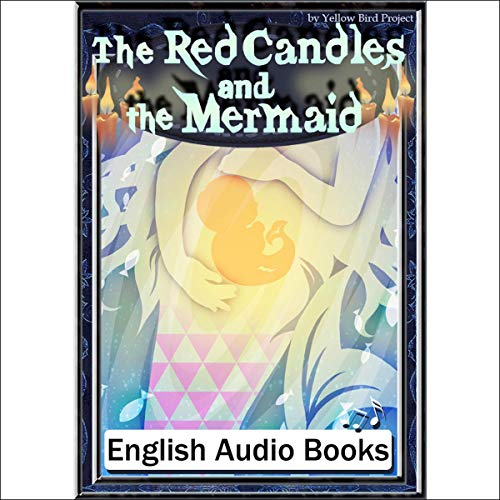 『The Red Candles and the Mermaid(赤いろうそくと人魚・英語版)』のカバーアート