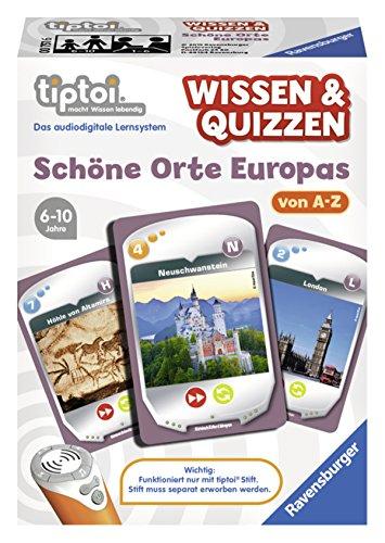 Ravensburger 00751 - tiptoi Spiel Wissen & Quizzen Schöne Orte Europas