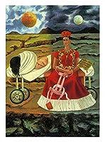 """アートポスター フリーダ・カーロの希望のジークレーの木ウォールアート 壁画 絵画 オシャレな壁掛け絵 インテリア 絵 キャンバスウォールアート ポスターと版画(20x28cm 8 """"x11""""、フレームなし)"""
