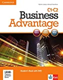 Business Advantage C1-C2: Advanced. Student's Book with DVD