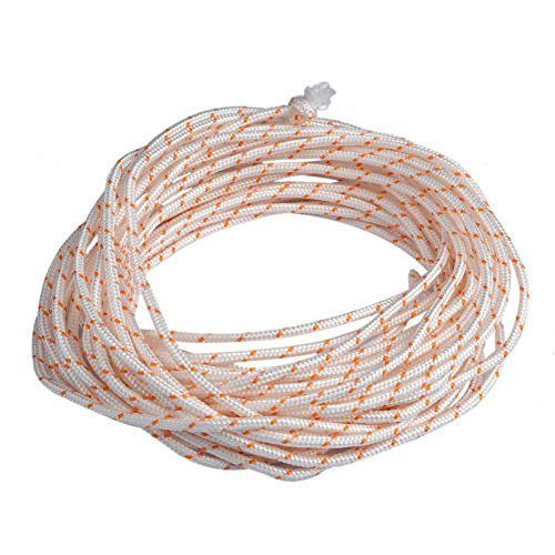 Euros Recoil Starter Rope 10-Meter 6.0mm Pull Cord for Husqvarna Stihl Sears Craftsman Poulan Lawn Mower Chainsaw Trimmer Edger Brush Cutter Engine Parts