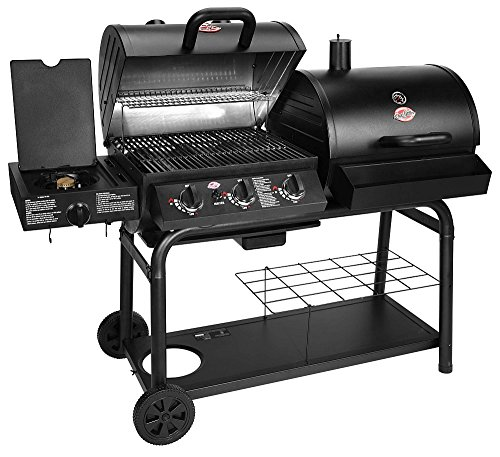 Char-Griller Duo Gas and Charcoal Grill - Model 5050.0